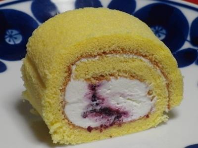 ラフレシール ブルーベリーロールケーキ