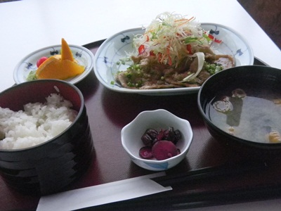 玉屋食堂 豚生姜焼定食
