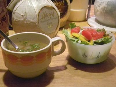 LAST サラダとスープ