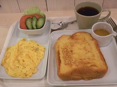 食堂カフェささ屋(SaSaYa) フレンチトーストモーニング