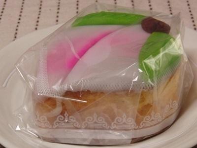 岡村製菓の桃カステラ