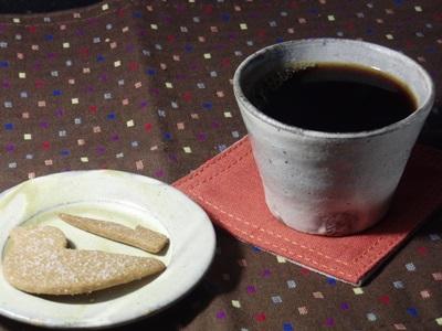 陶房沙器のカップと小皿