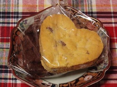 テイクアウトのクッキー