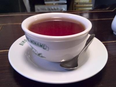 食後の紅茶