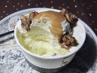 カップケーキ キャラメル