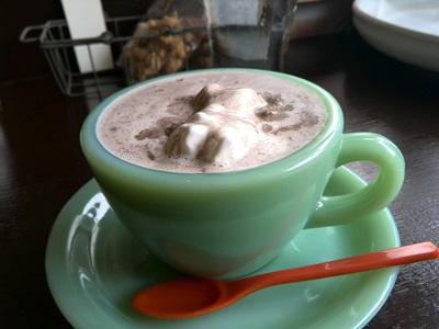てげてげ喫茶 ココア(ホイップクリーム入り)