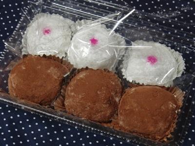 石井製菓 桃大福とチョコレート大福