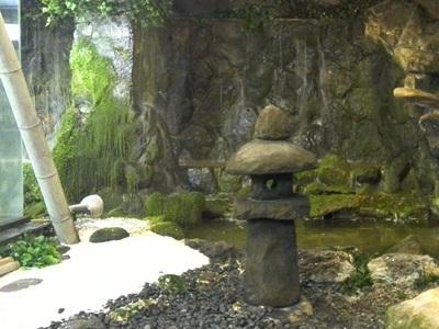 滝の茶屋鯉太郎 庭