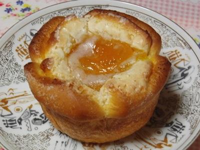 マンゴーとオレンジのパン