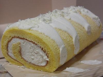 佐世保玉屋のロールケーキ プレーン