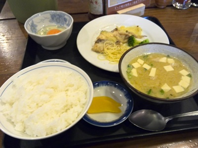 鯛のクリーム煮定食