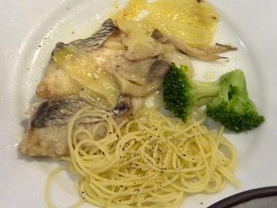 鯛のクリーム煮