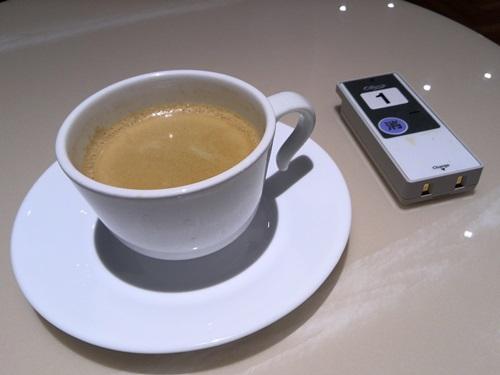 コーヒーと引換札?