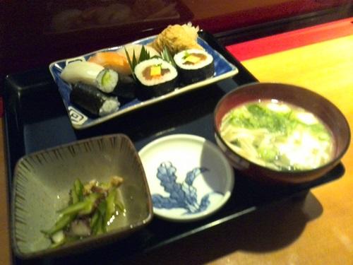 寿司喜 茶碗蒸し付き定食
