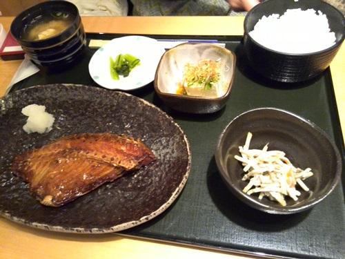 つぼ鯛みりん焼き定食