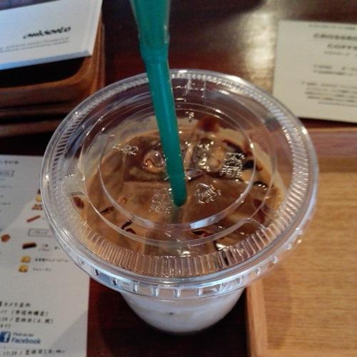 CROSSROADS COFFEE チョコレートラテ