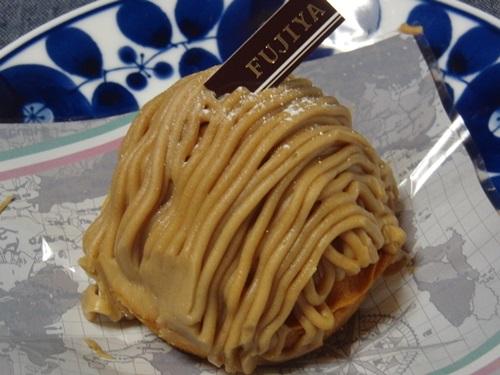 イタリア栗のモンブラン