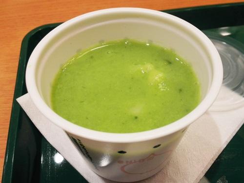 ゴロゴロ野菜のグリーンポタージュ